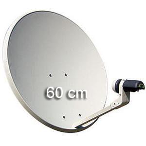 instalar antena satélite 60cm