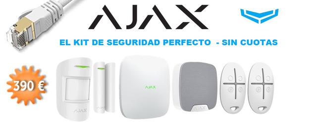 Alarma Ajax sin Cuota